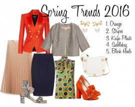 "5 Spring Trends to ""Work"" Into Your Work Wardrobe"